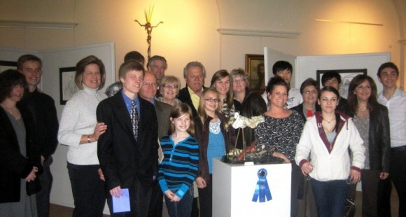 2012 FPA YAC at O.L. Galeria award winners and their families